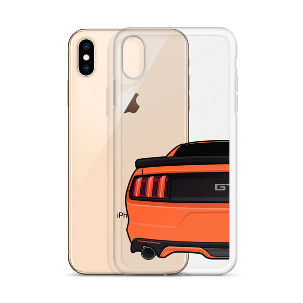 2015-17 Competition Orange Iphone Case (Rear) - 5ohNation