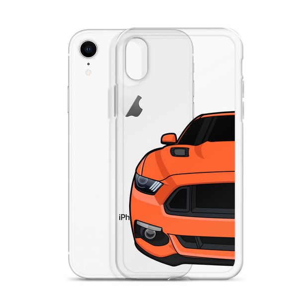 2015-17 Competition Orange Iphone Case (Front) - 5ohNation