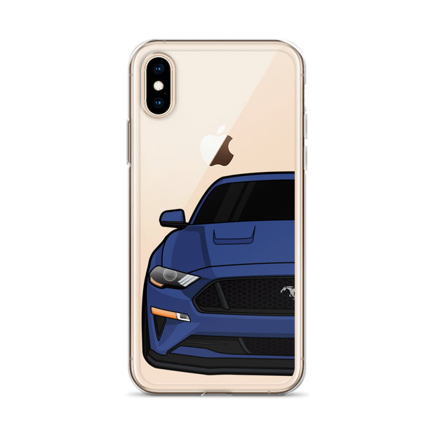 2018-19 Kona Blue iPhone Case (Front) - 5ohNation