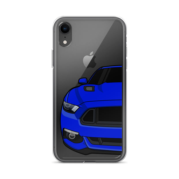 2015-17 Deep Impact/Lightning Blue Iphone Case (Front) - 5ohNation