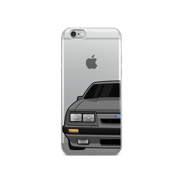 79-86 4 Eye Gray iPhone Case (Front) - 5ohNation