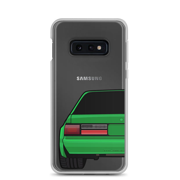 88-93 Notchback Green Samsung Case (Rear) - 5ohNation