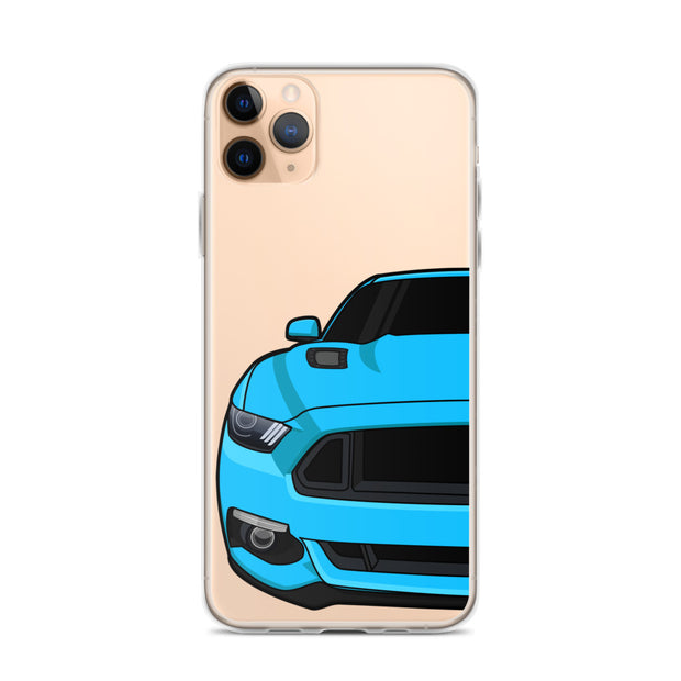 2015-17 Grabber Blue Iphone Case (Front) - 5ohNation