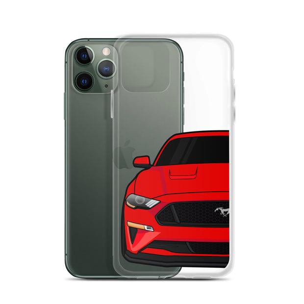 2018-19 Race Red iPhone Case (Front) - 5ohNation