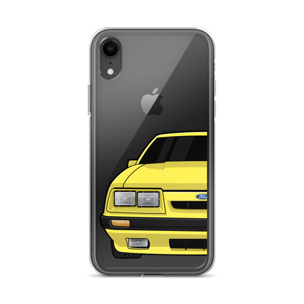 79-86 4 Eye Yellow iPhone Case (Front) - 5ohNation
