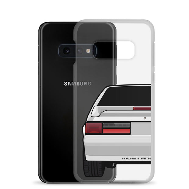 87-93 Silver Hatchback Samsung Case (Rear) - 5ohNation