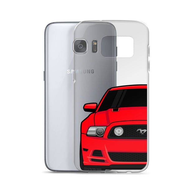 2013/14 Race Red Samsung Case (Front) - 5ohNation