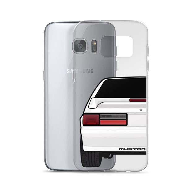 87-93 White Hatchback Samsung Case (Rear) - 5ohNation