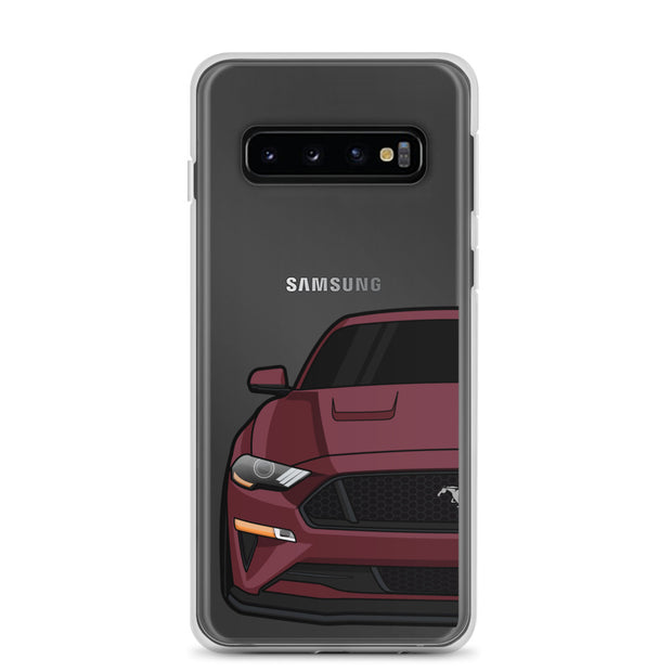 2018-19 Royal Crimson Samsung Case (Front) - 5ohNation