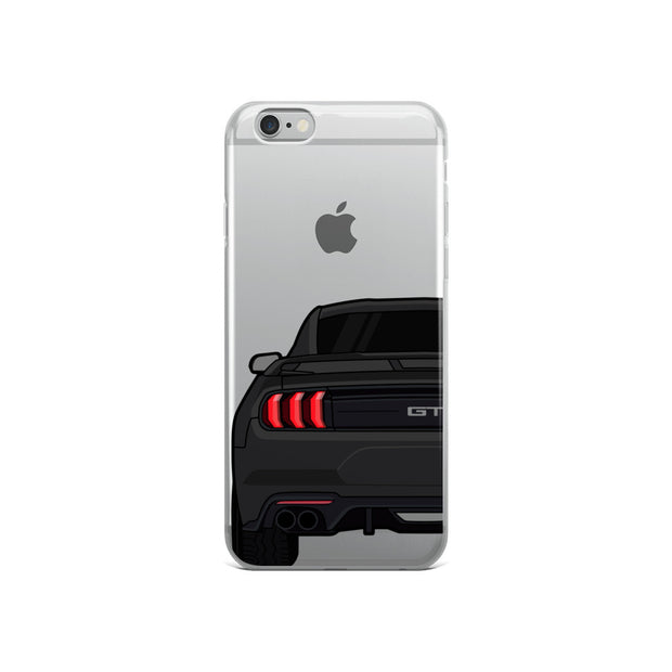 2018-19 Shadow Black iPhone Case (Rear) - 5ohNation