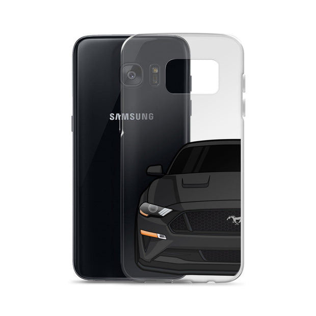 2018-19 Shadow Black Samsung Case (Front) - 5ohNation