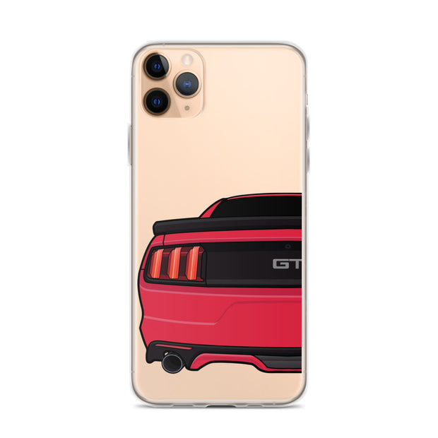 2015-17 Ruby Red iPhone Case (Rear) - 5ohNation