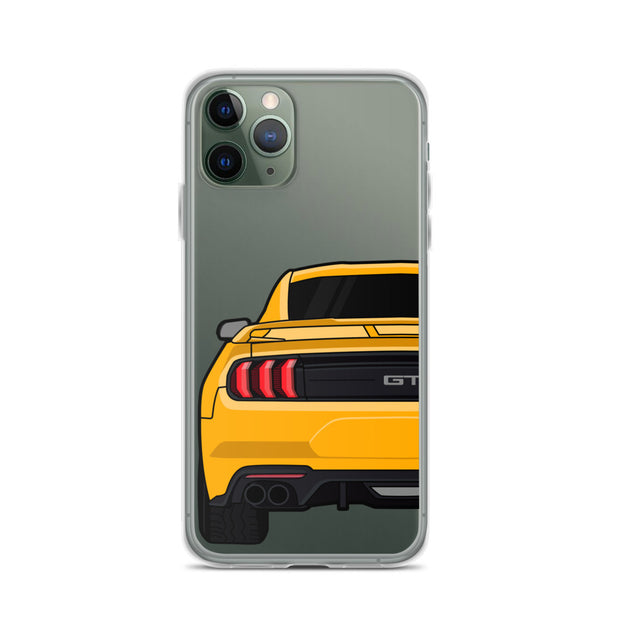 2018-19 Orange Fury iPhone Case (Rear) - 5ohNation