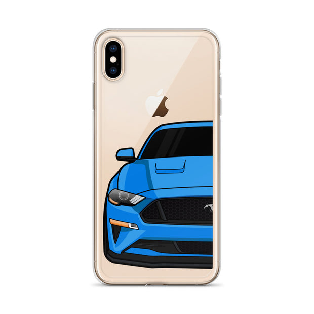 2018-19 Velocity Blue iPhone Case (Front) - 5ohNation