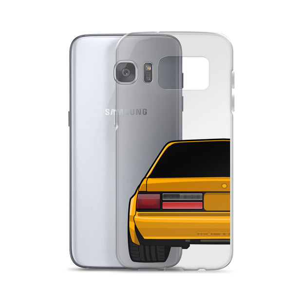 88-93 Notchback Orange Samsung Case (Rear) - 5ohNation