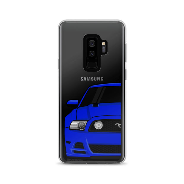 2013/14 Deep Impact Blue Samsung Case (Front) - 5ohNation