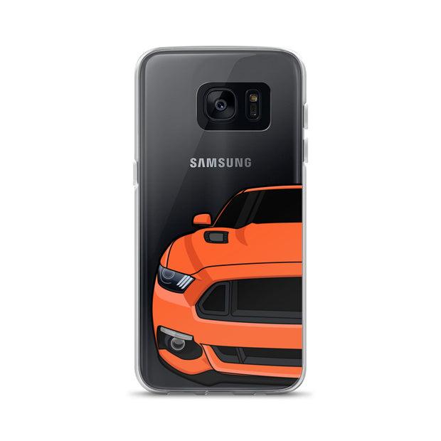 2015-17 Competition Orange Samsung Case (Front) - 5ohNation