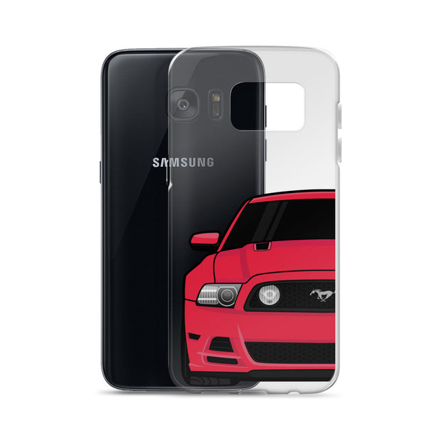 2013/14 Ruby Red Samsung Case (Front) - 5ohNation