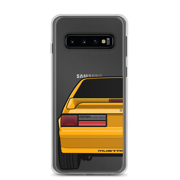 87-93 Orange Hatchback Samsung Case (Rear) - 5ohNation