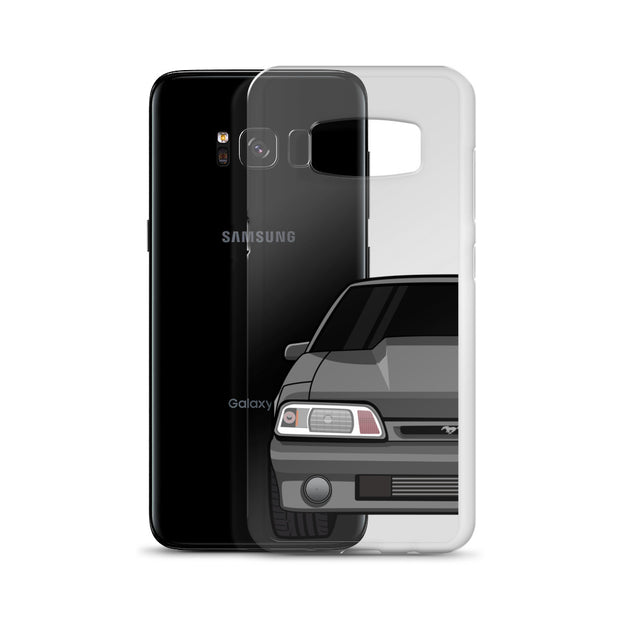 87-93 Gray Foxbody Samsung Case (Front) - 5ohNation