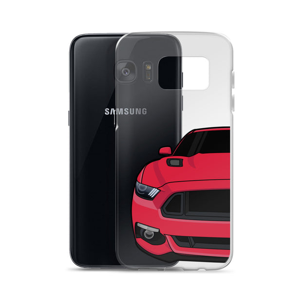 2015-17 Ruby Red Samsung Case (Front) - 5ohNation
