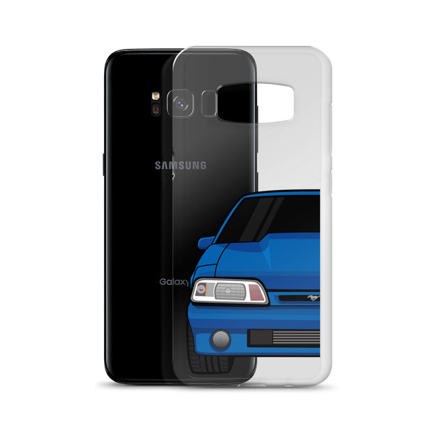 87-93 Blue Foxbody Samsung Case (Front) - 5ohNation