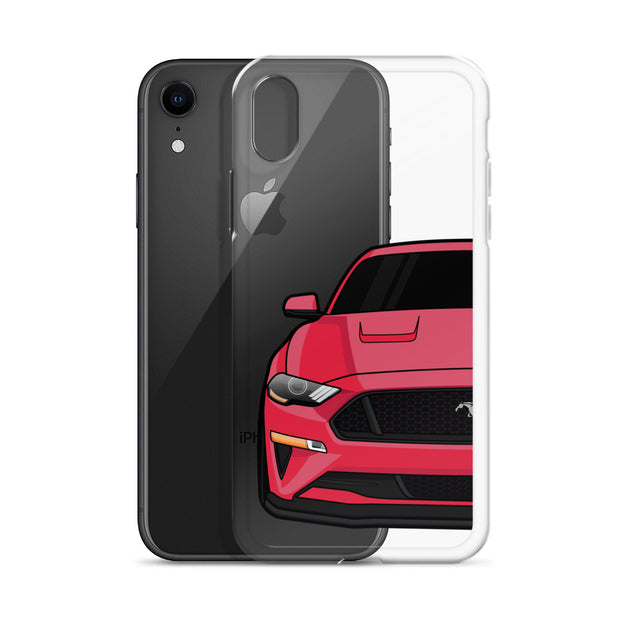 2018-19 Ruby Red iPhone Case (Front) - 5ohNation