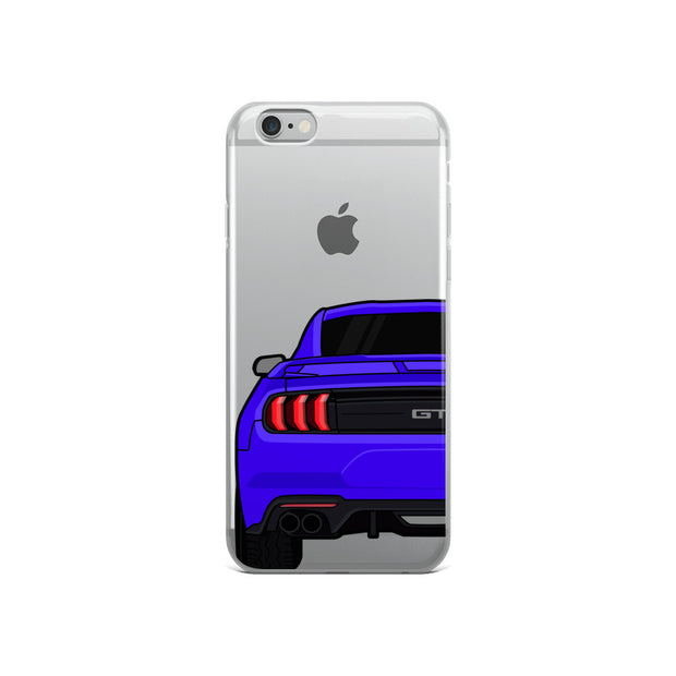2018-19 Lightning Blue iPhone Case (Rear) - 5ohNation