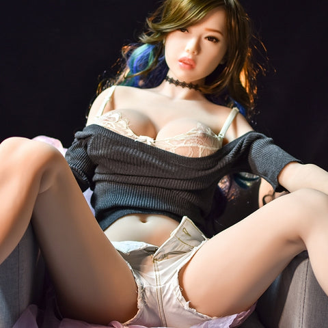 165cm 6YE TPE Sex Doll Bedroom Eyes Park