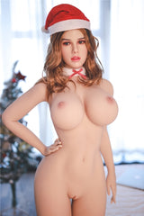 JY 164cm Sex Doll Violet Silicone Head