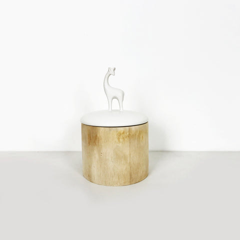 KARIN WOODEN JAR