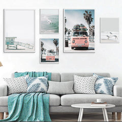 TROPICAL LANDSCAPE WALL ARTWORK