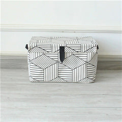 BLACK & WHITE PATTERN UNIVERSAL STORAGE