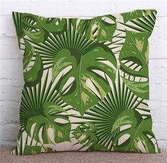 TROPICAL VIBE DECORATIVE PILLOW COVER C.2