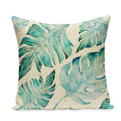 TROPICAL VIBE DECORATIVE PILLOW COVER C.16