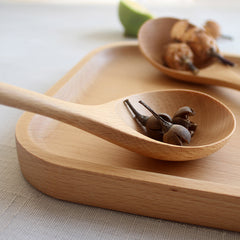 WOODEN SALAD SPOON (SET)