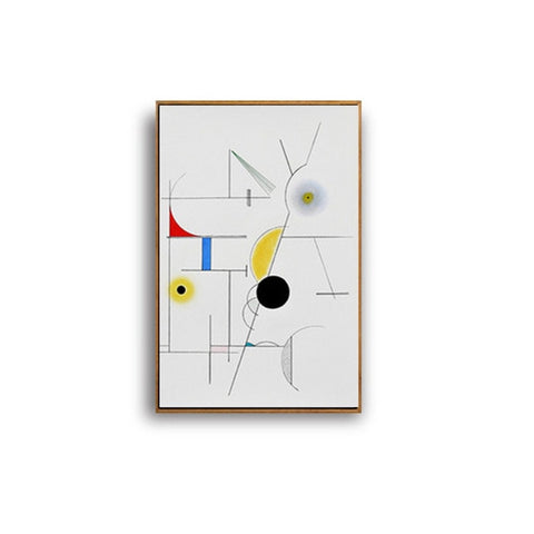 MODERN ABSTRACT GEOMETRY CANVAS