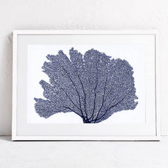 SEA CORAL MINIMAL WALL ARTWORK