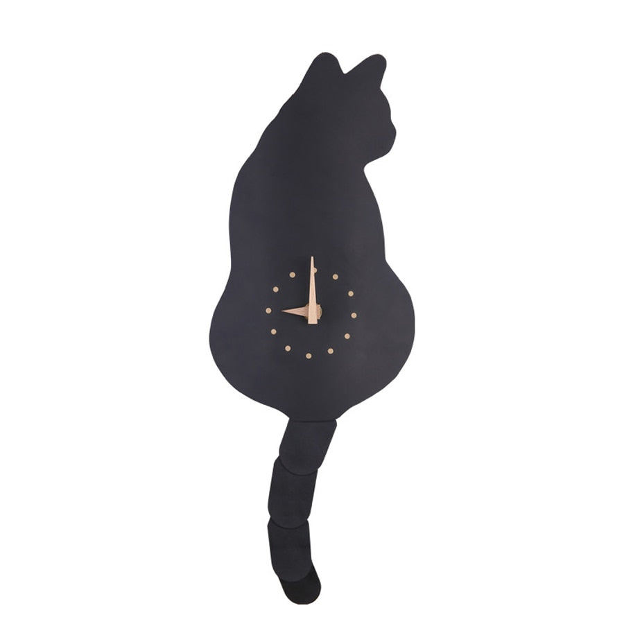 MYMY CAT WALL CLOCK