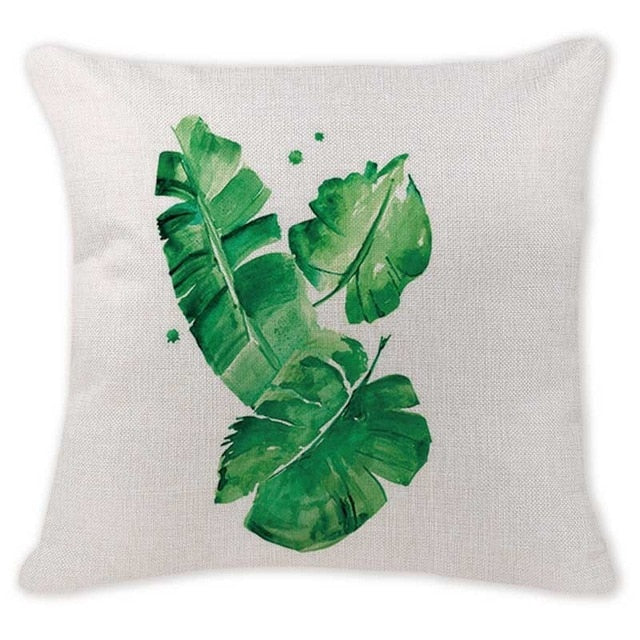 TROPICAL VIBE DECORATIVE PILLOW COVER C.7