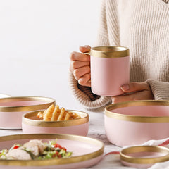 NORDIC ROSE GOLD TABLEWARE