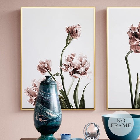 ROMANTIC FLOWER ART PRINT