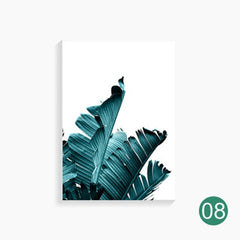 MODERN TROPICAL VIBE ART PRINT
