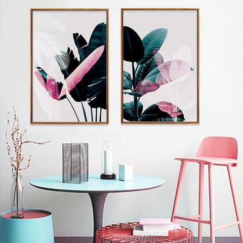 NORDIC TROPICAL VIBE ART PRINT