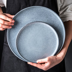 MINIMAL GREY CERAMIC TABLEWARE