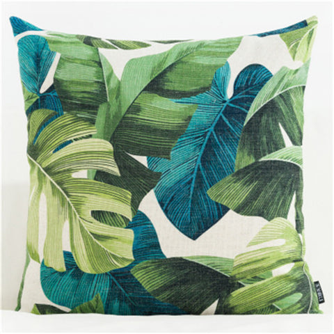 TROPICAL VIBE DECORATIVE PILLOW COVER C.5