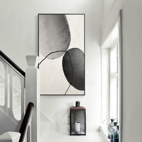 ABSTRACT SHAPE WALL ART