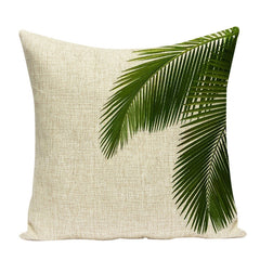 TROPICAL VIBE DECORATIVE PILLOW COVER C.4