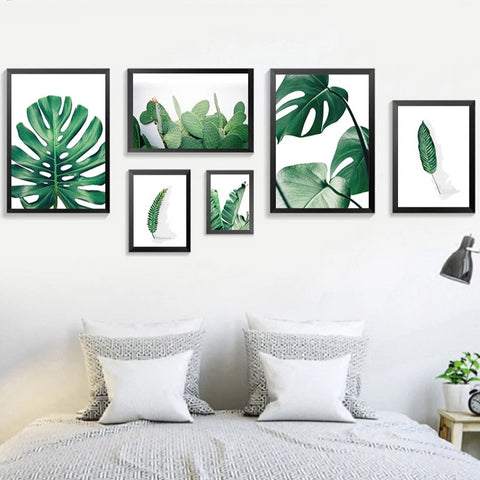 TROPICAL PLANT ART PRINT