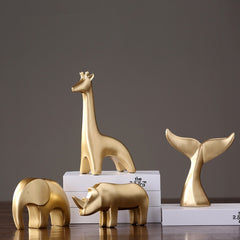 GOLDIE ANIMAL SCULPTURE COLLECTION